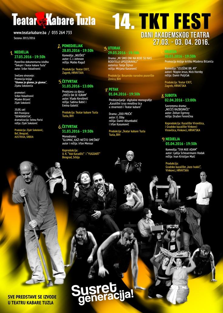 TKT FEST 2016 plakat